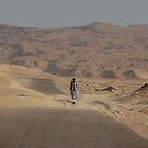 Desert road, Egypt by Peter Gostelow