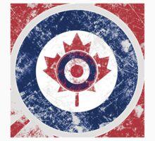 Grunge Mod Target Roundel Canada Kids Tee