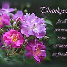 for all you mean to me- Thankyou by picketty