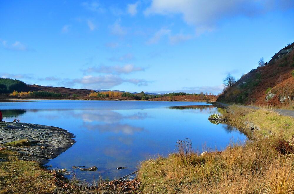 Loch Rotmell in Autumnal Weather by Braedene