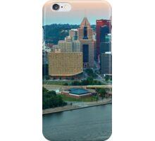 Pittsburgh Slyline Pink Sunrise iPhone Case/Skin