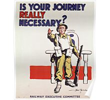 Is Your Journey Really Necessary? Poster