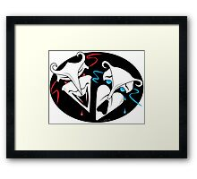 Comedy & Tragedy Framed Print