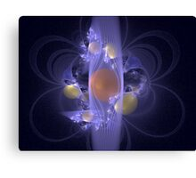 Elaborate Emergence Canvas Print