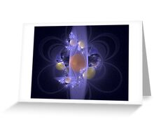 Elaborate Emergence Greeting Card
