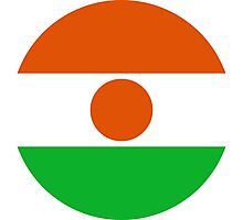 Roundel of Niger Air Force  Photographic Print