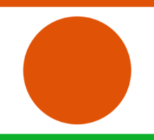 Roundel of Niger Air Force  Sticker