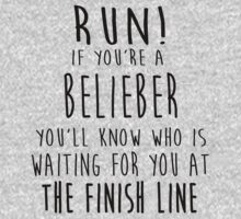 Run! If You're a Belieber You'll Know Who Is Waiting for You at The Finish Line! by romysarah
