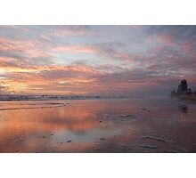 reflecting on a new day Photographic Print