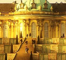 castle sanssouci by fuxart