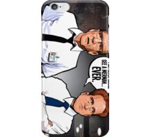 Cabin in the Woods Technicians iPhone Case/Skin