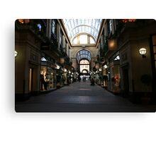 Exchange Arcade (colour) Canvas Print