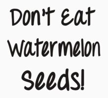 Don't Eat Watermelon Seeds! (Maternity, pregnant belly) by romysarah