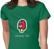 cheeky lol Womens Fitted T-Shirt