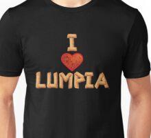 I Love Lumpia Unisex T-Shirt