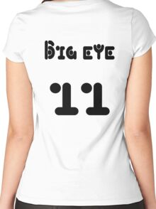 Big eye 11 Women's Fitted Scoop T-Shirt