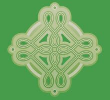 Celtic Knot Clover Design Kids Clothes