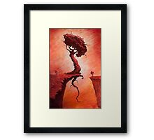 The Determined Existence  Framed Print