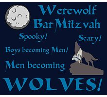 Werewolf Bar Mitzvah Photographic Print