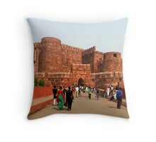 Agra Fort, India Throw Pillow