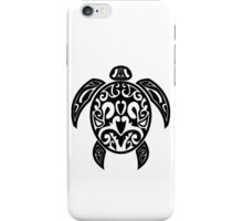 Sea Turtle Tribal Tattoo iPhone Case/Skin