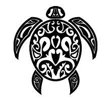 Sea Turtle Tribal Tattoo by AmazingMart