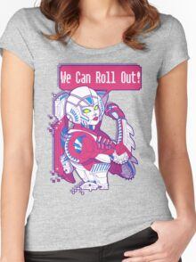 Arcee - We Can Roll OUT! Women's Fitted Scoop T-Shirt