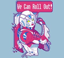 Arcee - We Can Roll OUT! Womens Fitted T-Shirt