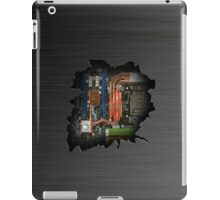 Electrical insides wall crack  iPad Case/Skin