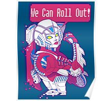 Arcee - We Can Roll OUT! Poster