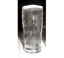 carlsberg pint Photographic Print