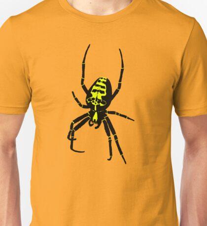 Spider - Yellow Unisex T-Shirt