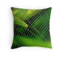 Dewdrop Abacus Throw Pillow