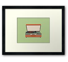 Put Your Records On Framed Print