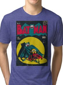 Batman and Robin/Adventure time Mashup Tri-blend T-Shirt