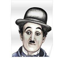 Charlie Chaplin t-shirt Poster