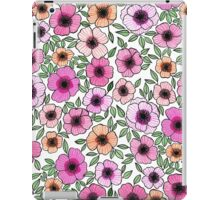 POPPY PATTERN iPad Case/Skin