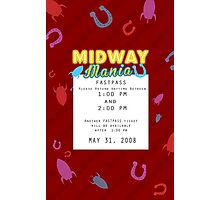 Midway Mania Fastpass Photographic Print