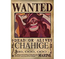 Wanted Chahige - One Piece Photographic Print