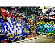 Melbourne Graffiti Artists Photographic Print