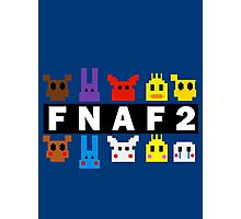 Five Nights At Freddy's 2 Pixel Shirt Photographic Print