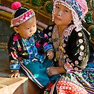 Thai Tribe Little girl by Cvail73
