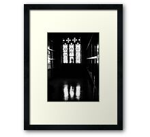 judgement hour Framed Print
