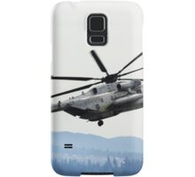 Marine Helicopter At Air Show Samsung Galaxy Case/Skin