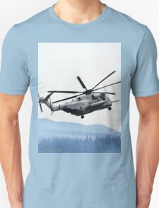 Marine Helicopter At Air Show Unisex T-Shirt