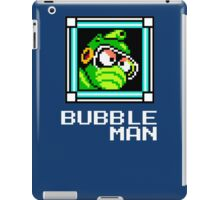 Bubbleman iPad Case/Skin