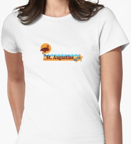 Fort Walton Beach - Florida. Womens Fitted T-Shirt