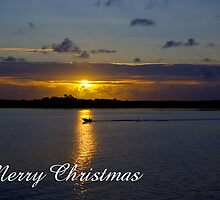 Strahan Harbour, Merry Christmas by Steven Weeks