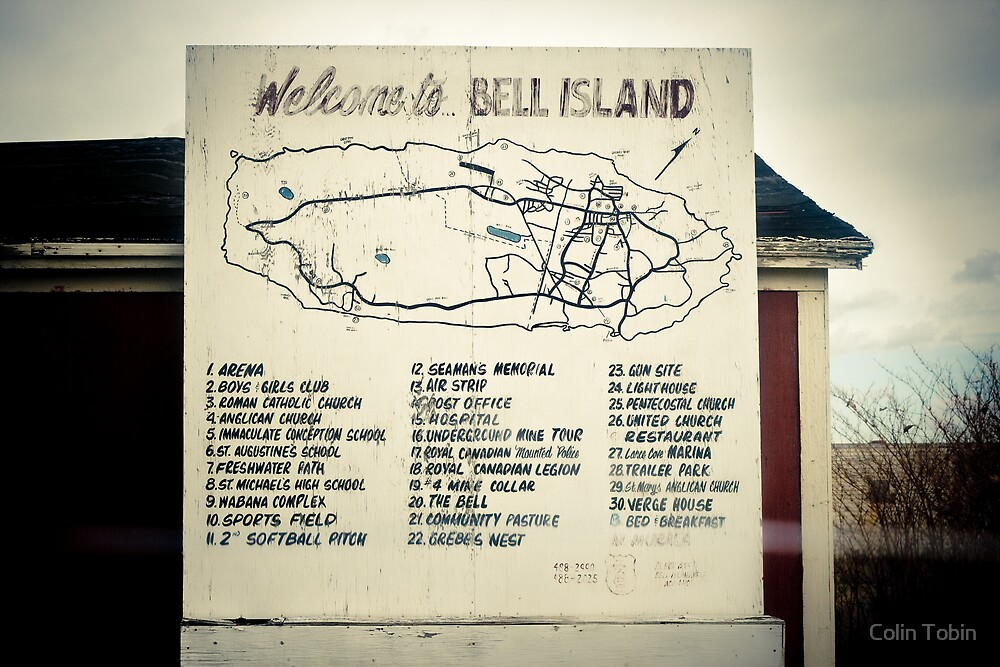 Welcome to Bell Island by Colin Tobin