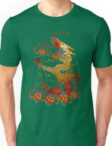 Playful Dragon Unisex T-Shirt